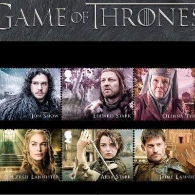 El servicio postal del Reino Unido venderá sellos de 'Game of Thrones'