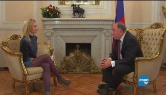 Embajador de Rusia descarta interferencia de su gobierno en otros países