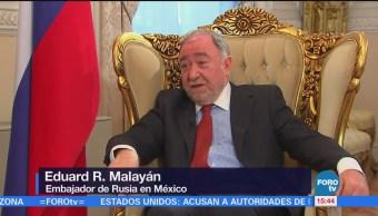 Embajador Rusia Niega Intervención Elecciones México