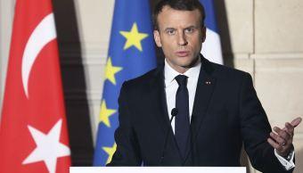 Macron descarta la integración de Turquía en la Unión Europea