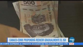 Empresarios Cdmx Pedirán Reducción Impuestos