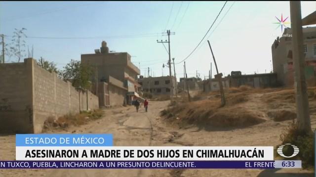 Encuentran en Chimalhuacán el cuerpo de una mujer asesinada por golpe en la cabeza