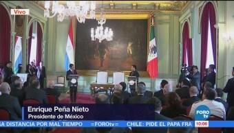EPN: Paraguay es un socio importante para México