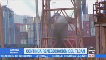 Equipos Técnicos Avanzan Renegociación Tlcan