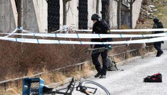 Explosión junto a estación de metro en Estocolmo deja un muerto