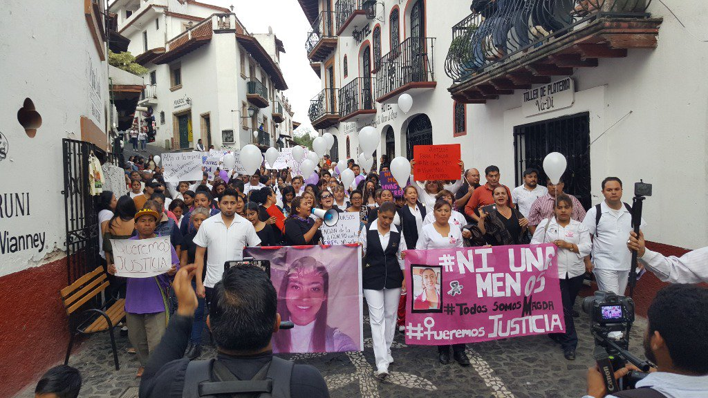 nvestigan feminicidio magdalena aguilar taxco guerrero