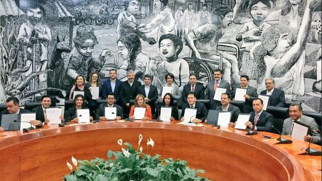 Firman pacto de civilidad 11 delegados en la CDMX