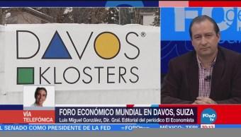 Foro Económico Davos Análisis Luis Miguel González