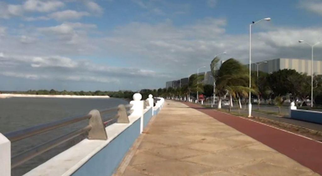 Frente frío 22 provoca bajas temperaturas en Campeche