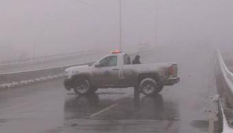 Hielo y frío azotan a Coahuila, cierran 31 puentes vehiculares
