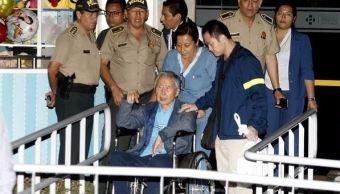 hospitalizan expresidente fujimori cardiacos indulto clinica