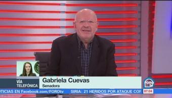 Gabriela Cuevas explica salida del PAN, habla de nuevo modelo de política