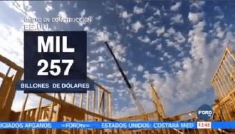 Gasto Construcción Estados Unidos Máximos Históricos