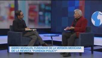 Genaro Lozano entrevista a Isidro Morales