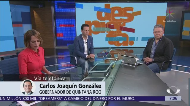 Gobernador de Quintana Roo habla en Despierta sobre Góngora y polémica de la marihuana
