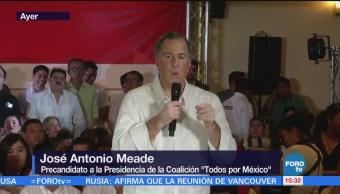 Meade pide resolver pendientes del Sistema Nacional Anticorrupción
