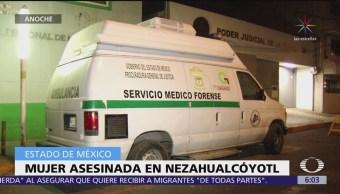 Hallan sin vida a una mujer en Nezahualcóyotl, Edomex