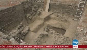 Hallazgo antropológico en Tlalpan