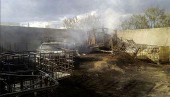 incendio evidencia presunto robo de combustible en tequila, jalisco