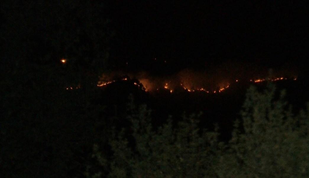 Controlan incendio en la Malintzi, en los límites de Puebla y Tlaxcala