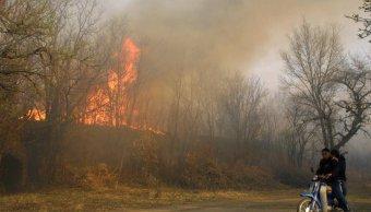 Incendio forestal arrasa cerca 200 mil hectáreas campo Argentina