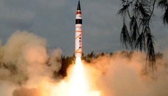 India ensaya misil largo alcance capacidad nuclear