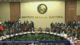 INE aprueba cambio al nombre de la coalición PRI, PVEM y Panal