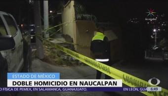 Inseguridad en Naucalpan, Estado de México, está en niveles críticos