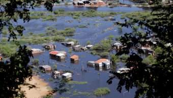 Declaran estado emergencia Asunción Paraguay inundaciones