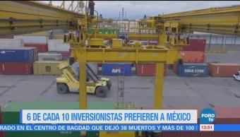 Inversionistas prefieren traer recursos a México