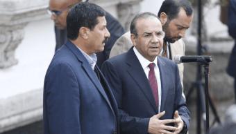 Navarrete Prida y Javier Corral inician dialogo en Gobernación