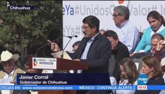 Javier Corral Convoca Mitin