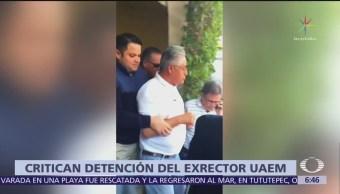 Javier Sicilia reitera que hay persecución política contra el exrector de la UAEM