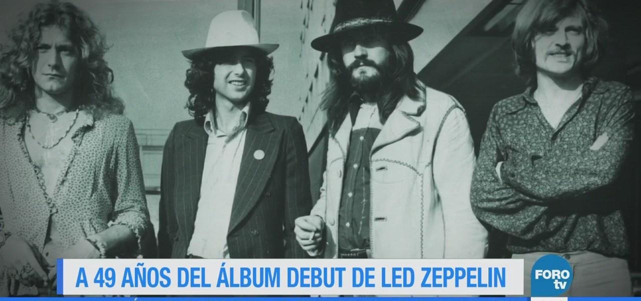 Efeméride En Una Hora: Led Zeppelin debuta con su primer álbum
