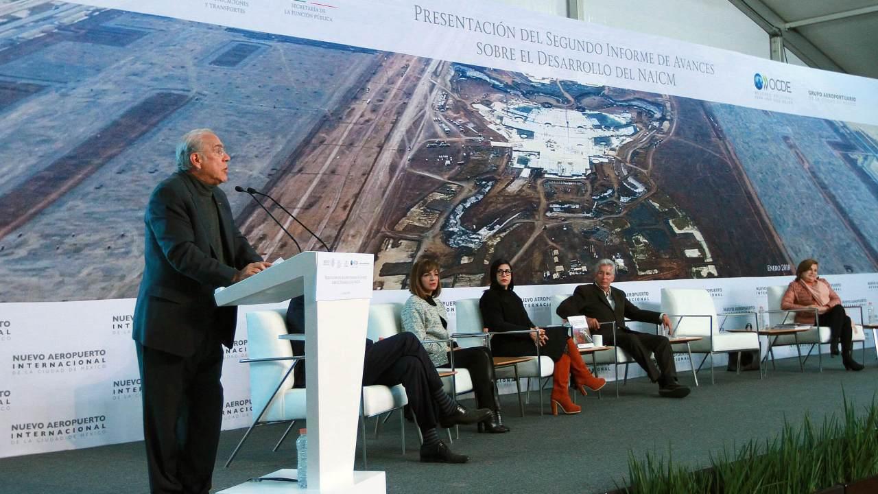 NAICM debe ser referente mundial: Gurría