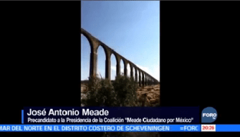José Antonio Meade Visita Hidalgo Precandidato Coalición Meade