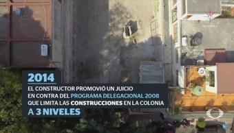 Juez de Michoacán avala construcción de edificio irregular en la CDMX