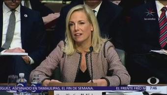 Kistjen Nielsen comparece ante senadores de Estados Unidos