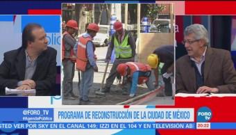 La reconstrucción de la CDMX la mesa de análisis con Mauricio Merino