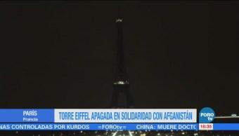 Torre Eiffel Apaga Víctimas Ataque Afganistán