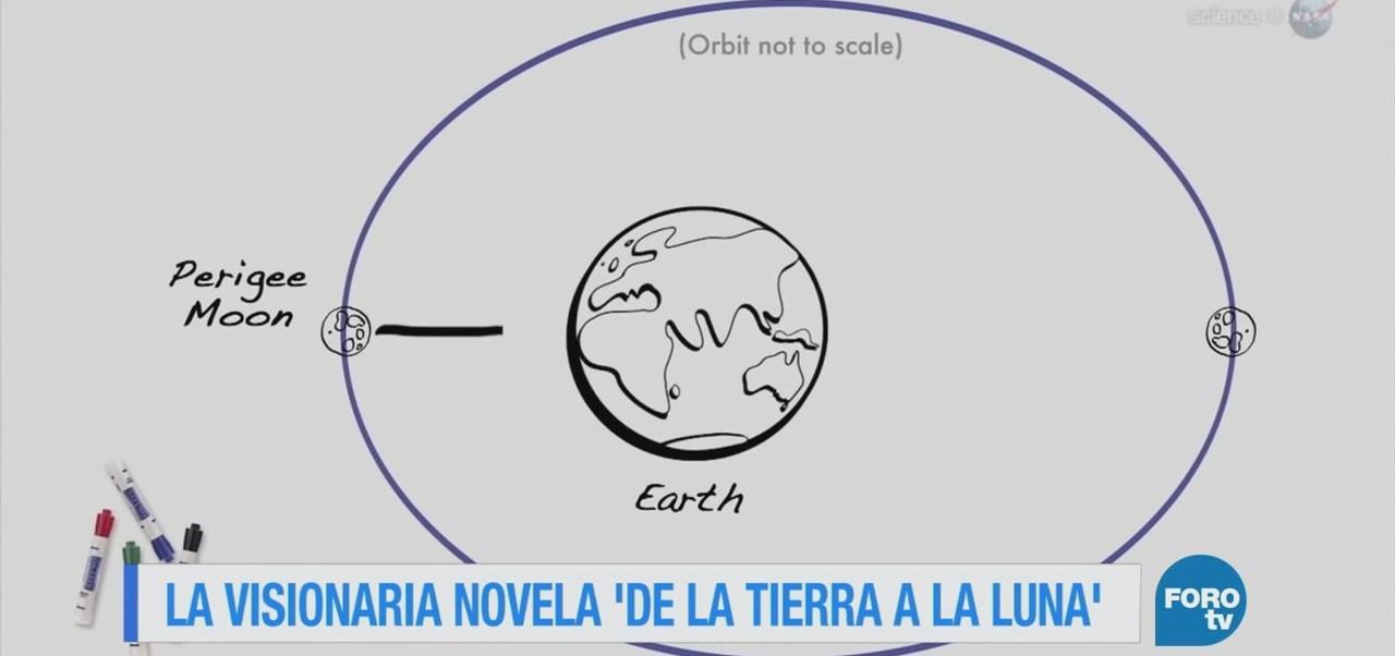 """La visionaria novela """"De la Tierra a la Luna"""""""