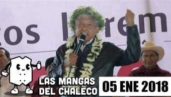 Las Mangas del Chaleco Arranca el 2018 y los precandidatos hacen de las suyas