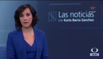Las Noticias, con Karla Iberia: Programa del 12 de enero de 2017
