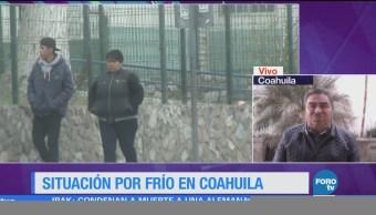 Las temperaturas podrían mejor en los próximos días en Coahuila