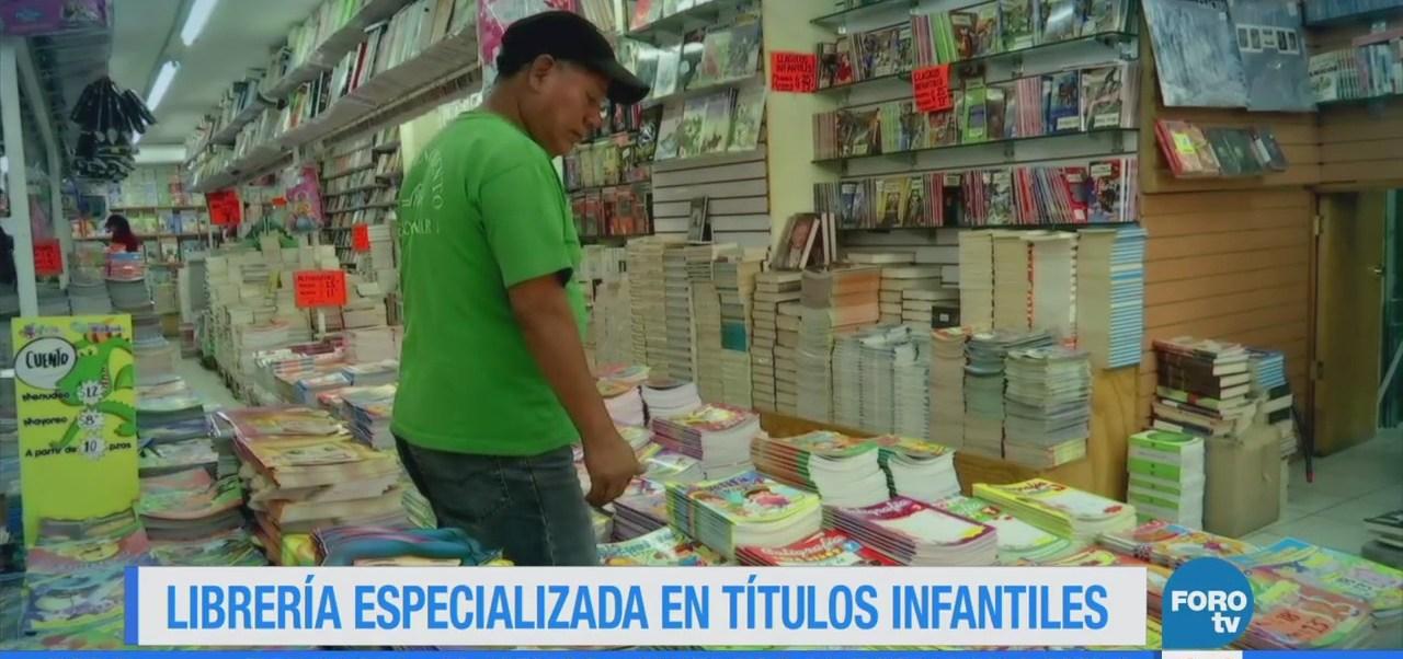 Librería especializada en títulos infantiles