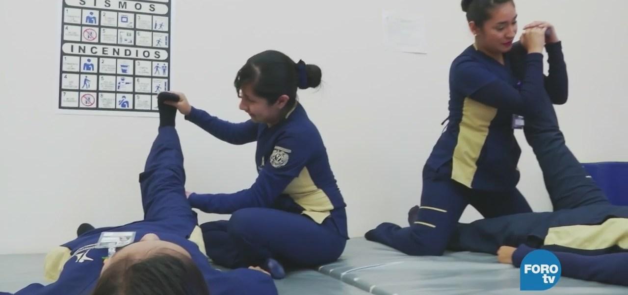 Licenciatura en fisioterapia en la UNAM
