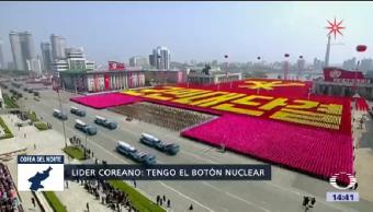 Líder Norcoreano Listo Ataque Nuclear