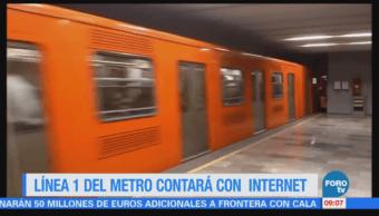 Extra Extra: Línea 1 del Metro CDMX contará con internet