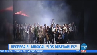 #LoEspectaculardeME: Regresa el musical 'Los Miserables'
