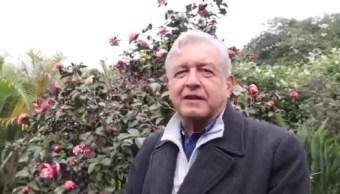 Andrés Manuel López Obrador, precandidato de la coalición Juntos haremos Historia